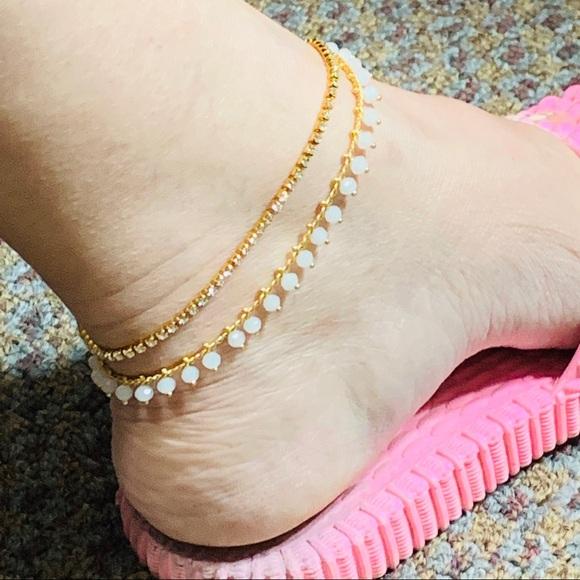 Gold Plated Ankle Bracelet